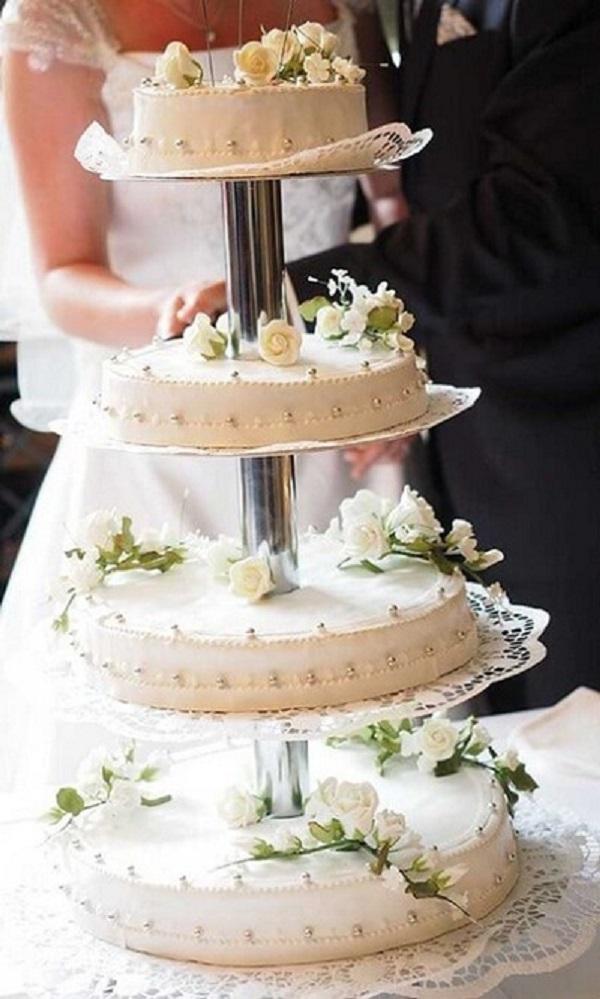 Bánh gato trong ngày cưới của Chelsea Clinton