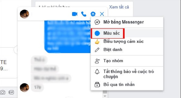 Hai cách đổi màu messenger thành màu đen trên PC và điện thoại