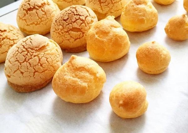 Thành phẩm bánh Su Kem Nhật Bản