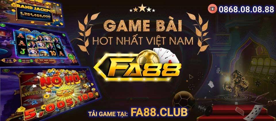 đánh giá cổng game fa88