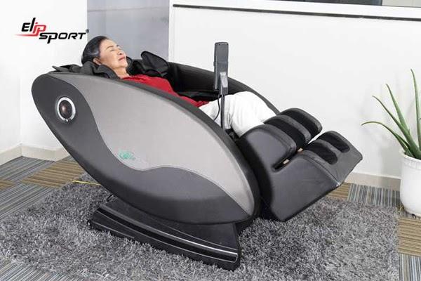 Sử dụng ghế massage giúp máu lưu thông tốt hơn