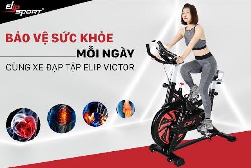 Công dụng của xe đạp tập Elip Victor