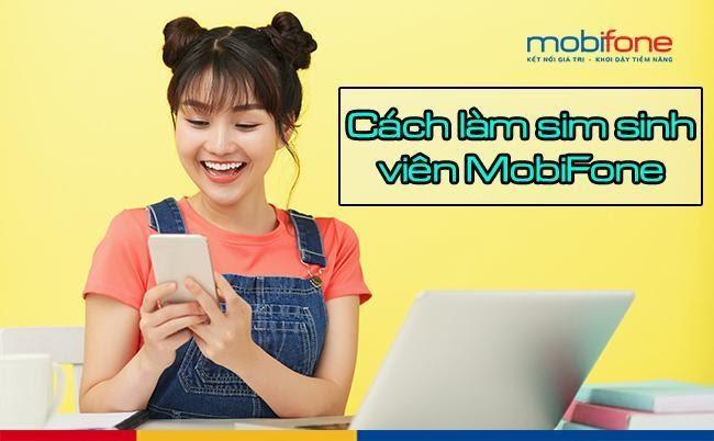 Thủ tục đăng ký tin nhắn sim sinh viên Mobifone cực đơn giản
